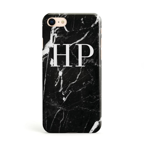 iphone 8 marble initial case