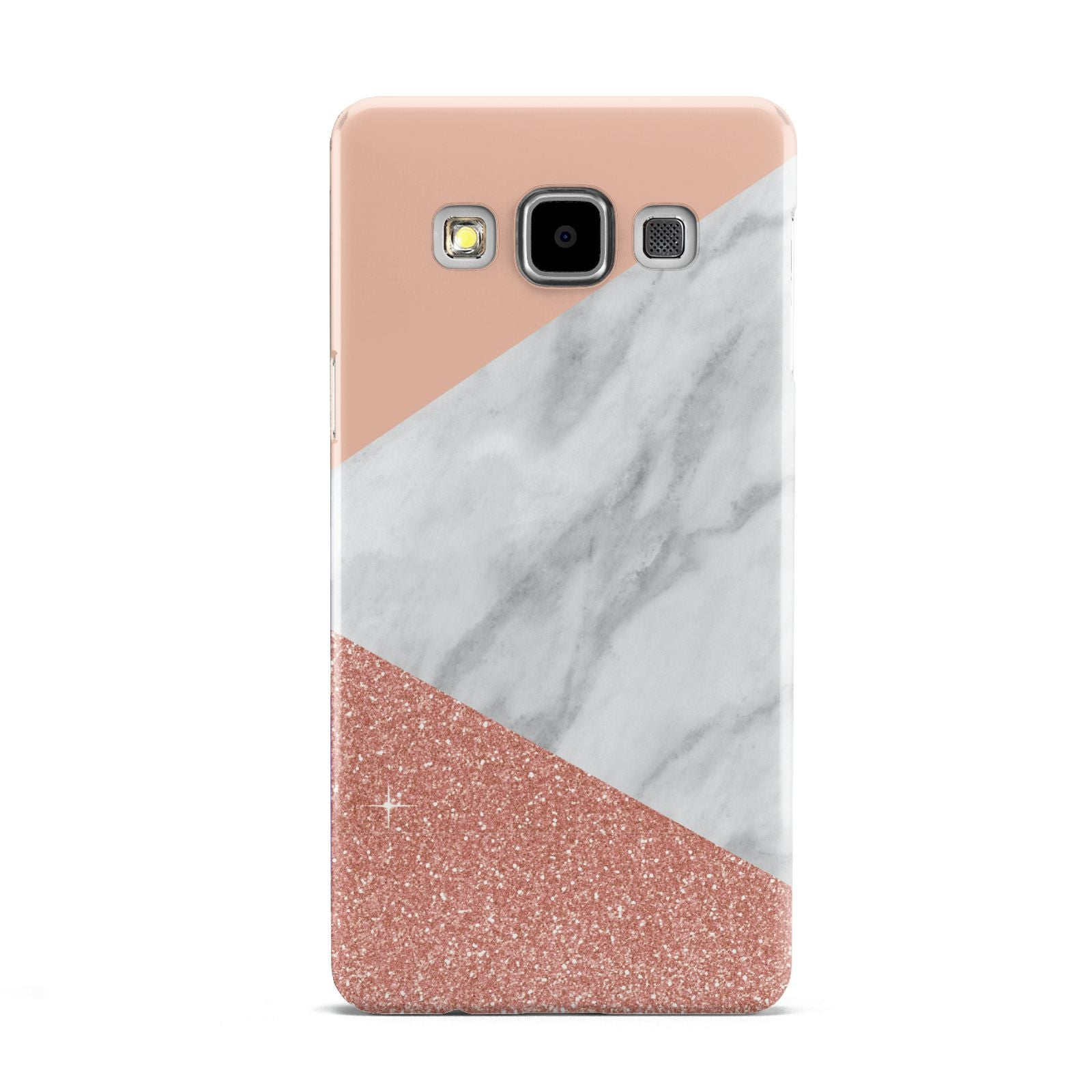 Marble White Rose Gold Samsung Galaxy A5 Case