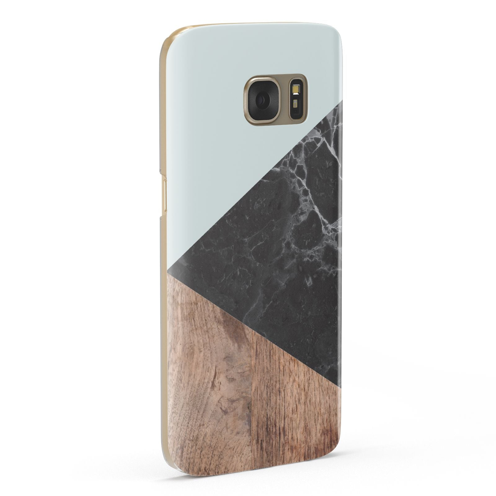 Marble Wood Geometric 2 Samsung Galaxy Case Fourty Five Degrees