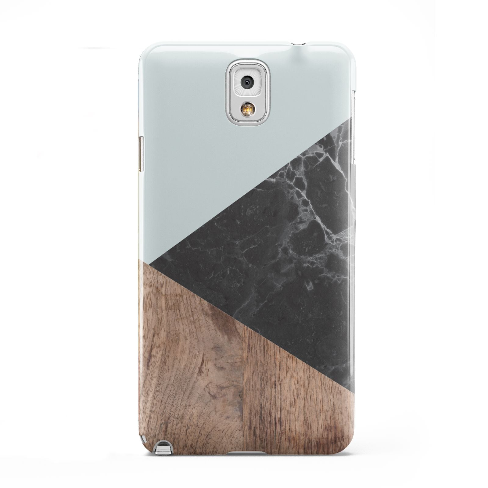 Marble Wood Geometric 2 Samsung Galaxy Note 3 Case