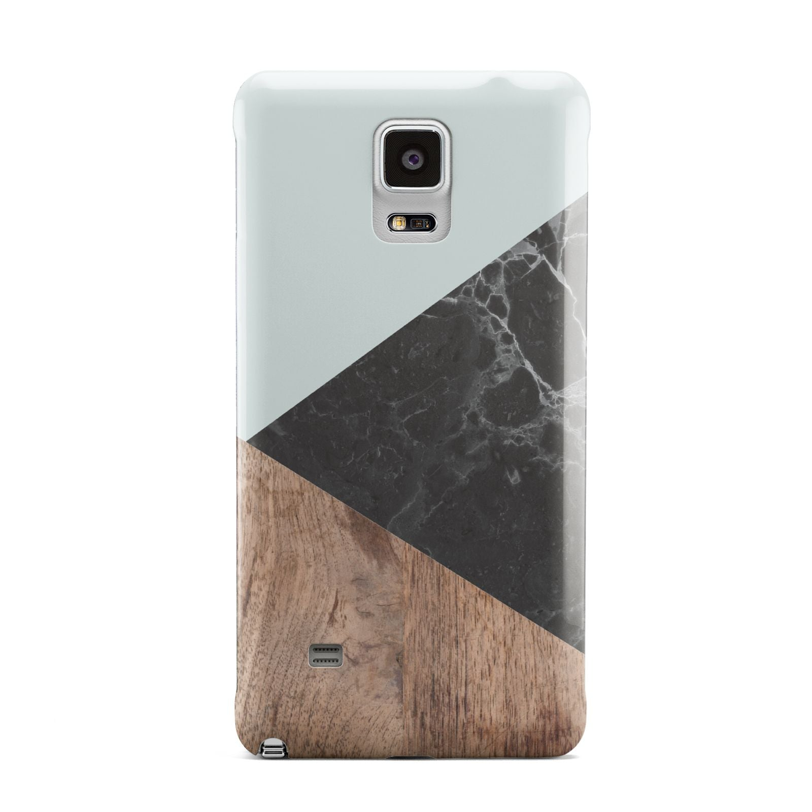 Marble Wood Geometric 2 Samsung Galaxy Note 4 Case