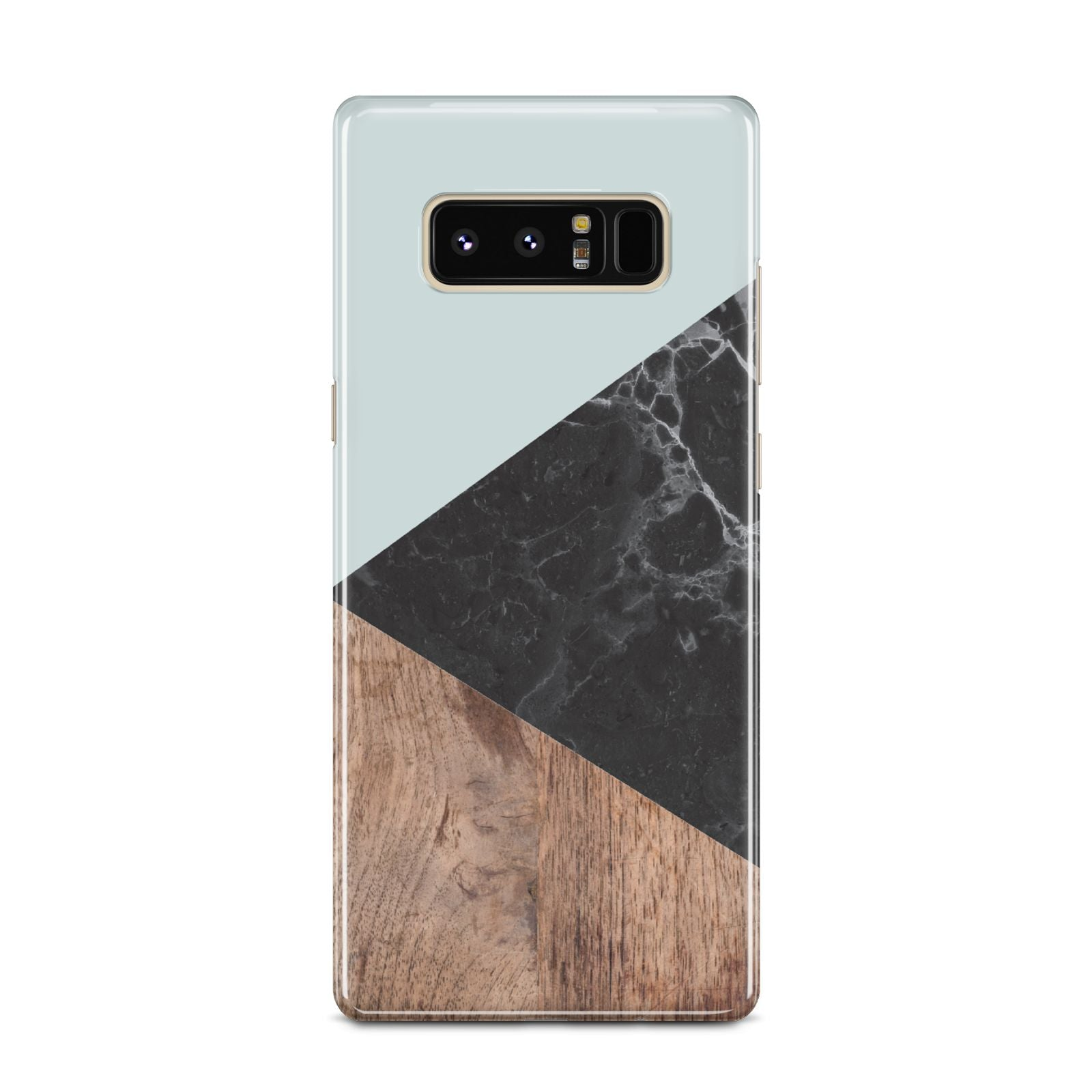 Marble Wood Geometric 2 Samsung Galaxy Note 8 Case