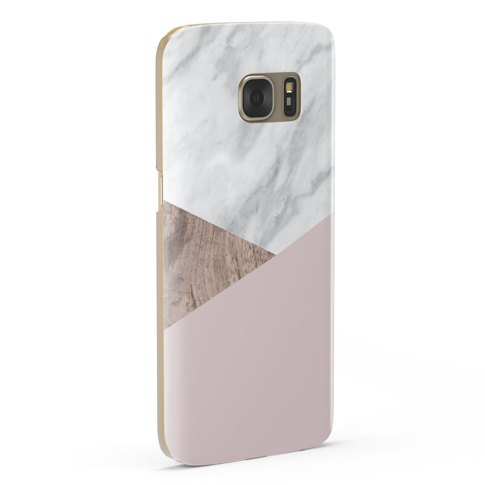 Marble Wood Geometric 3 Samsung Galaxy Case Fourty Five Degrees