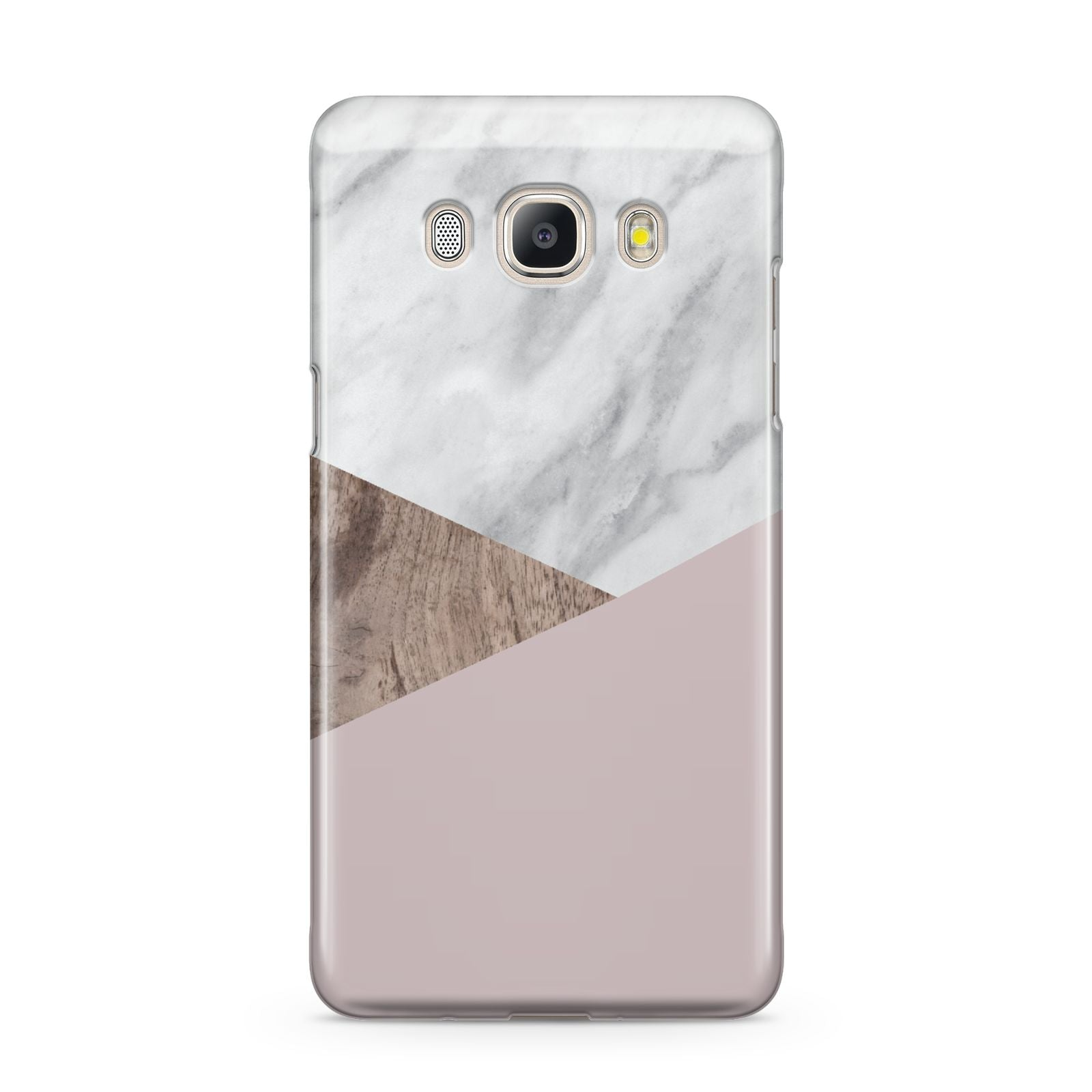 Marble Wood Geometric 3 Samsung Galaxy J5 2016 Case