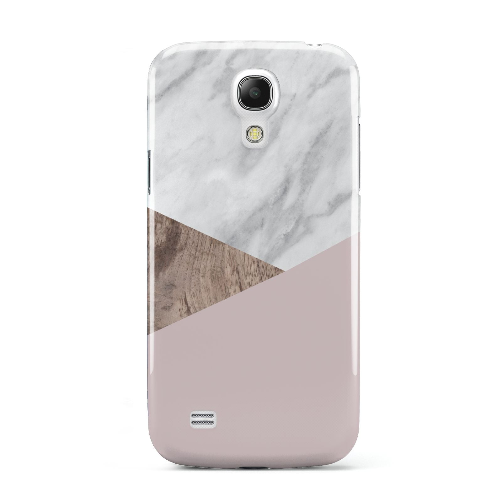Marble Wood Geometric 3 Samsung Galaxy S4 Mini Case
