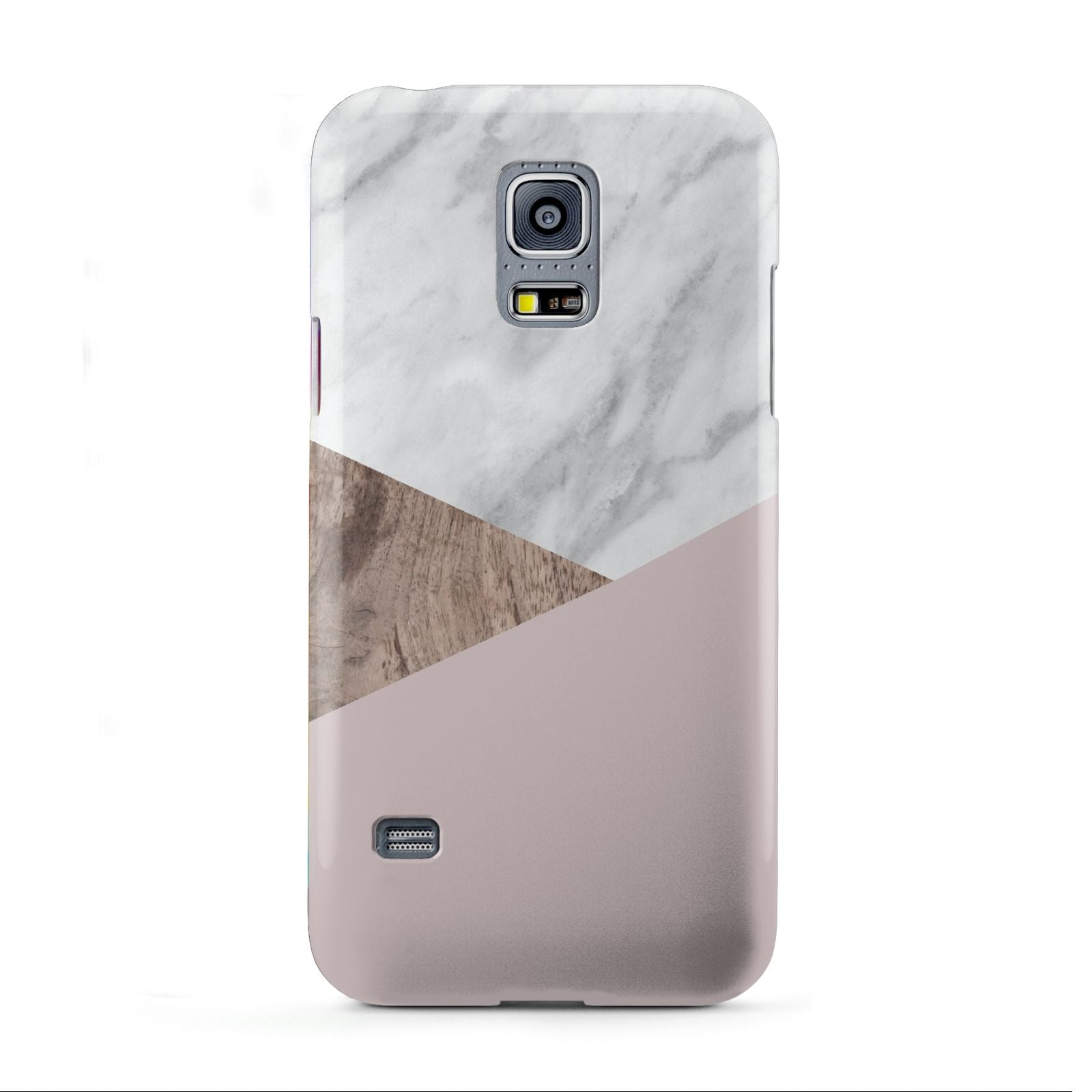 Marble Wood Geometric 3 Samsung Galaxy S5 Mini Case