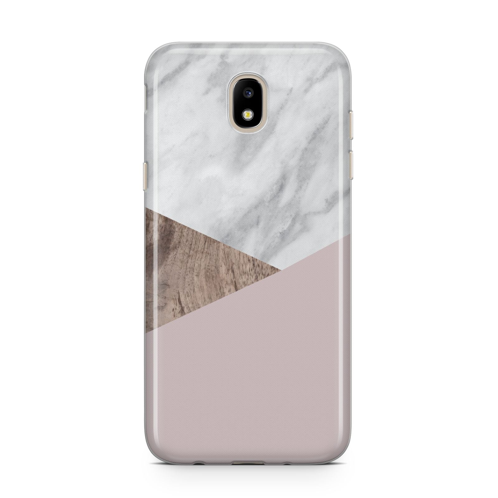Marble Wood Geometric 3 Samsung J5 2017 Case