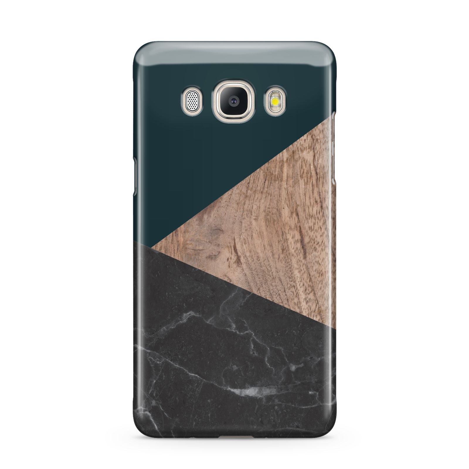 Marble Wood Geometric 6 Samsung Galaxy J5 2016 Case