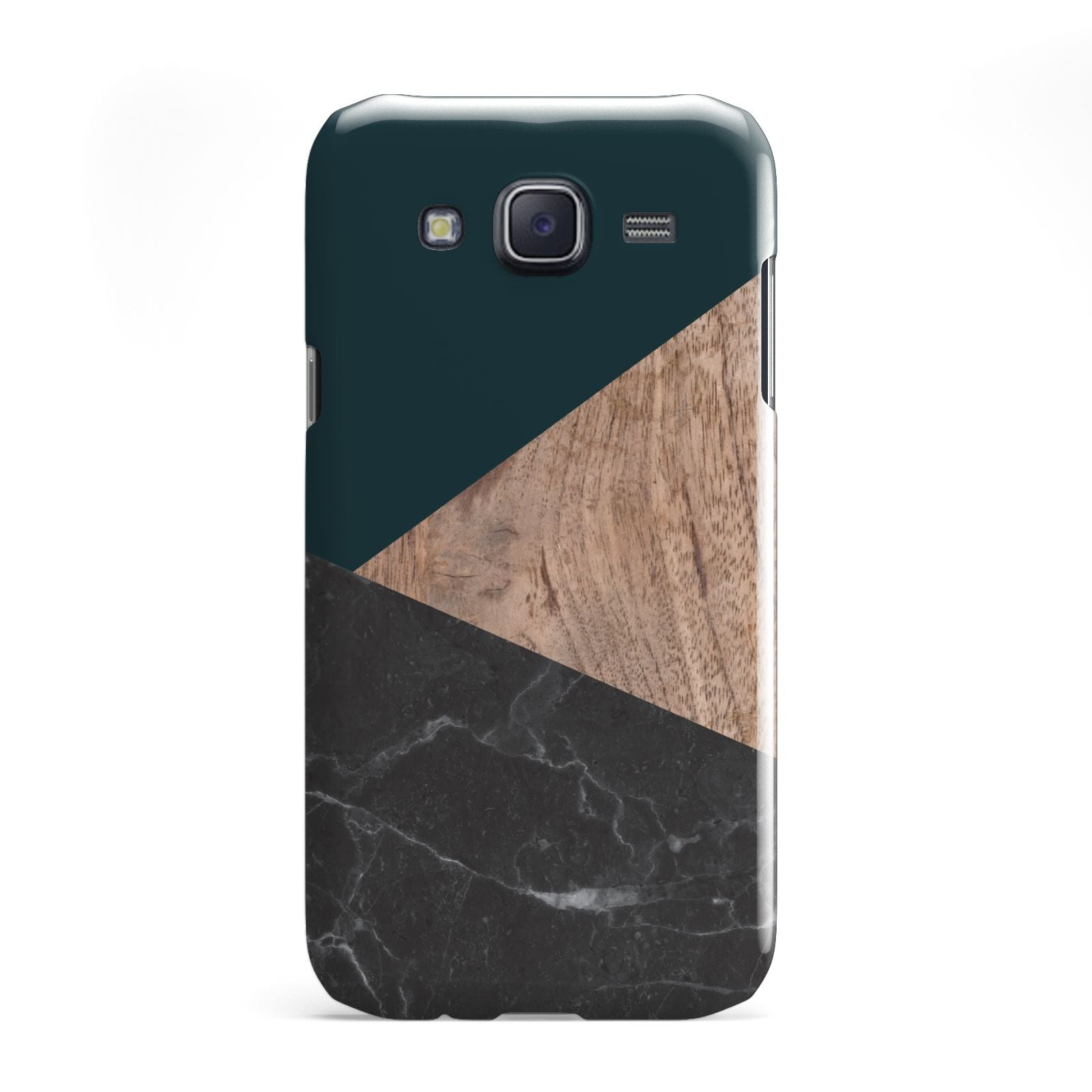 Marble Wood Geometric 6 Samsung Galaxy J5 Case