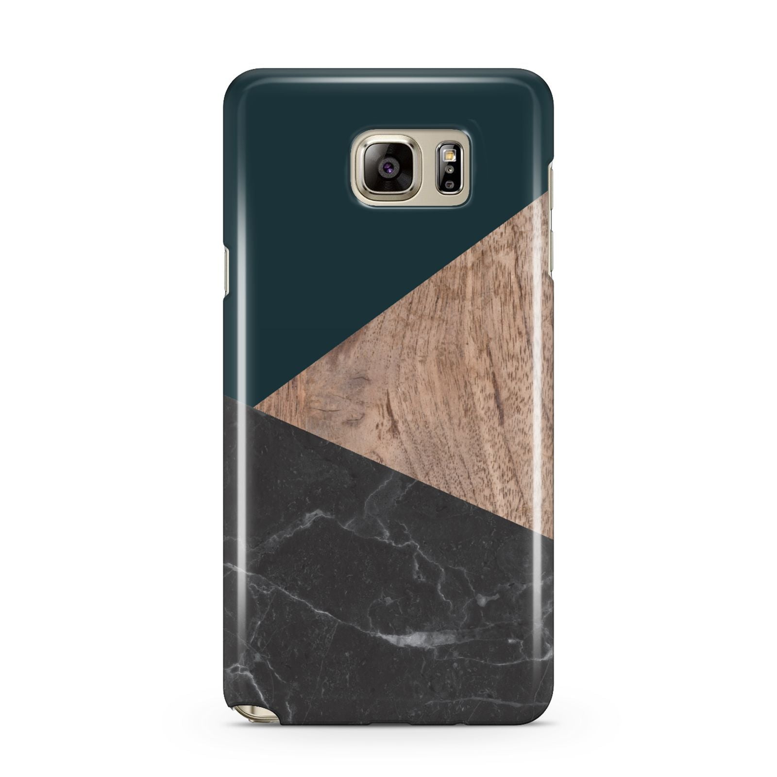 Marble Wood Geometric 6 Samsung Galaxy Note 5 Case