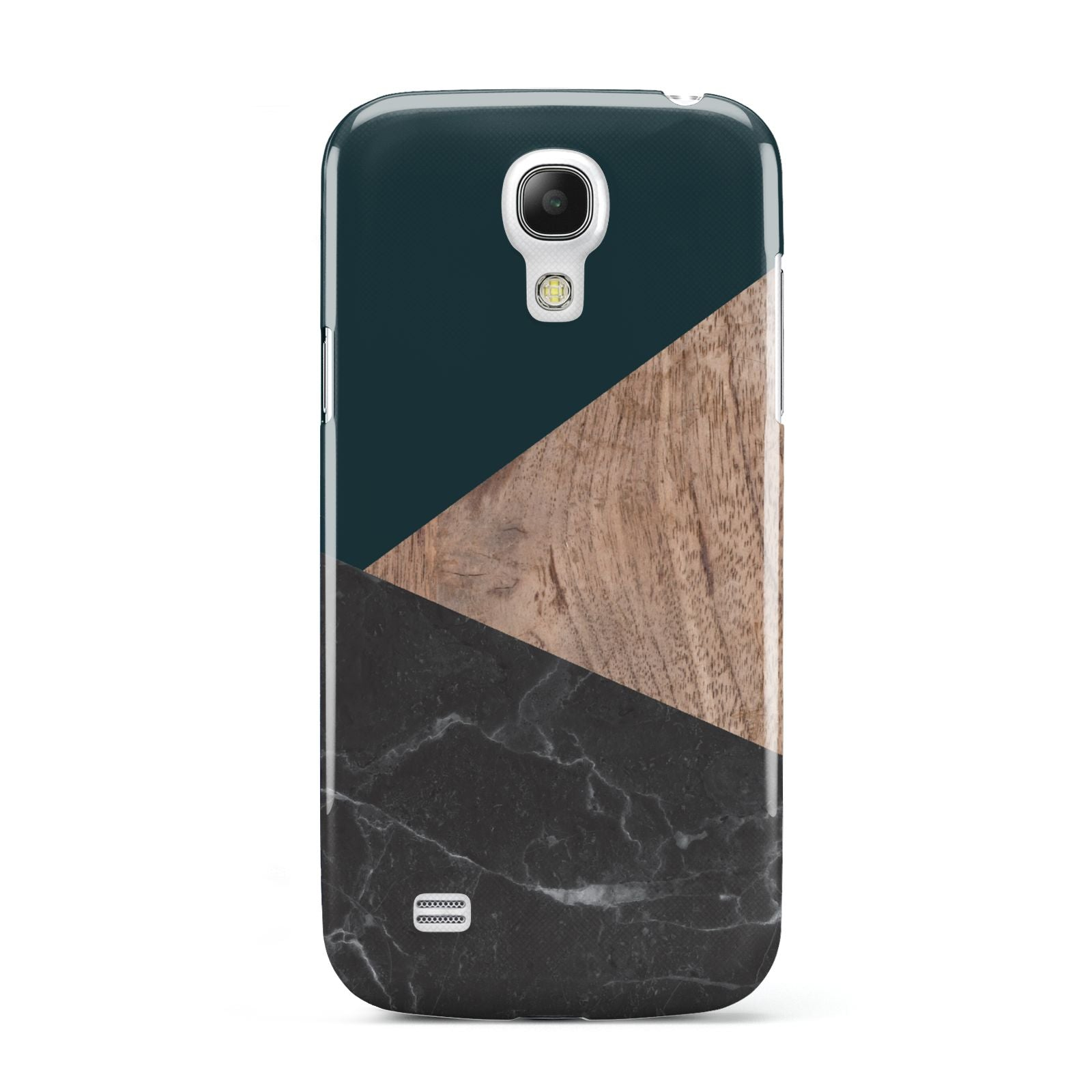 Marble Wood Geometric 6 Samsung Galaxy S4 Mini Case