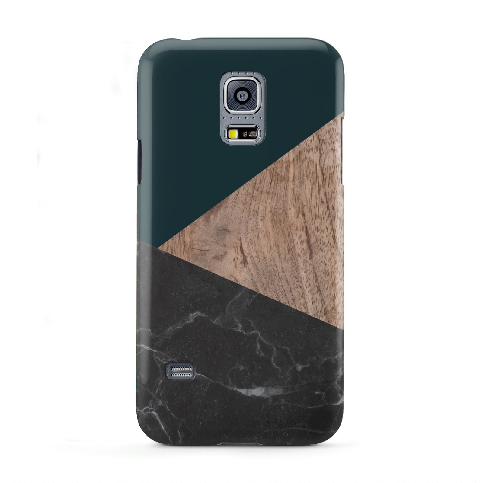 Marble Wood Geometric 6 Samsung Galaxy S5 Mini Case