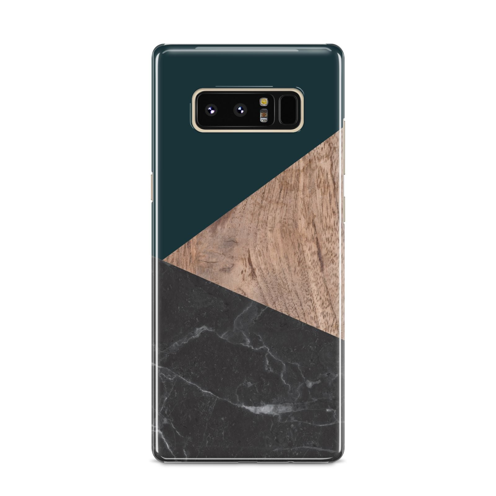 Marble Wood Geometric 6 Samsung Galaxy S8 Case