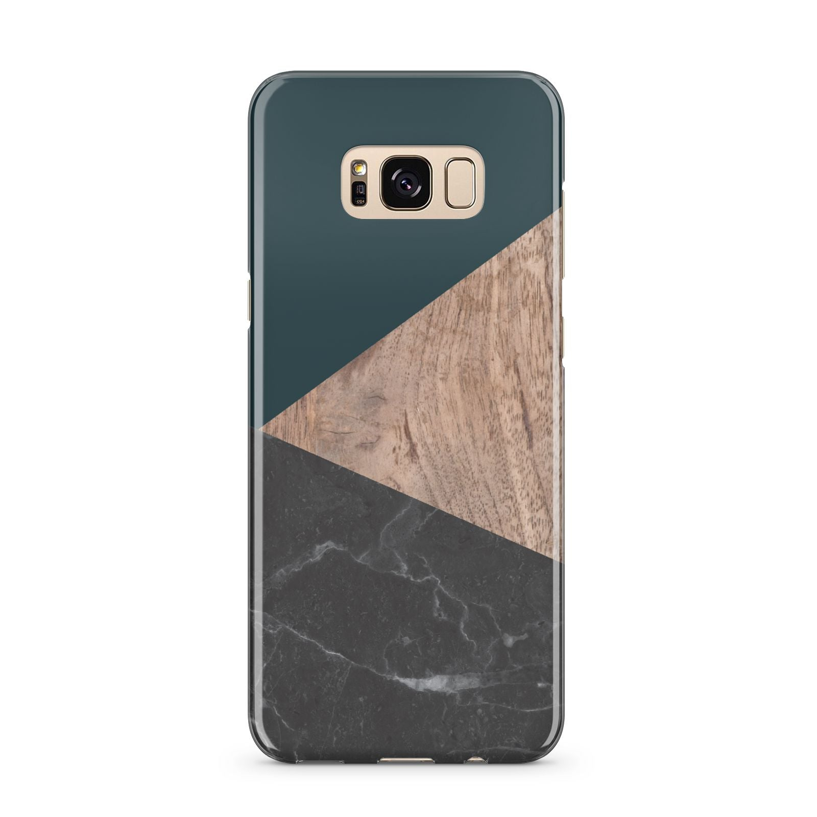 Marble Wood Geometric 6 Samsung Galaxy S8 Plus Case