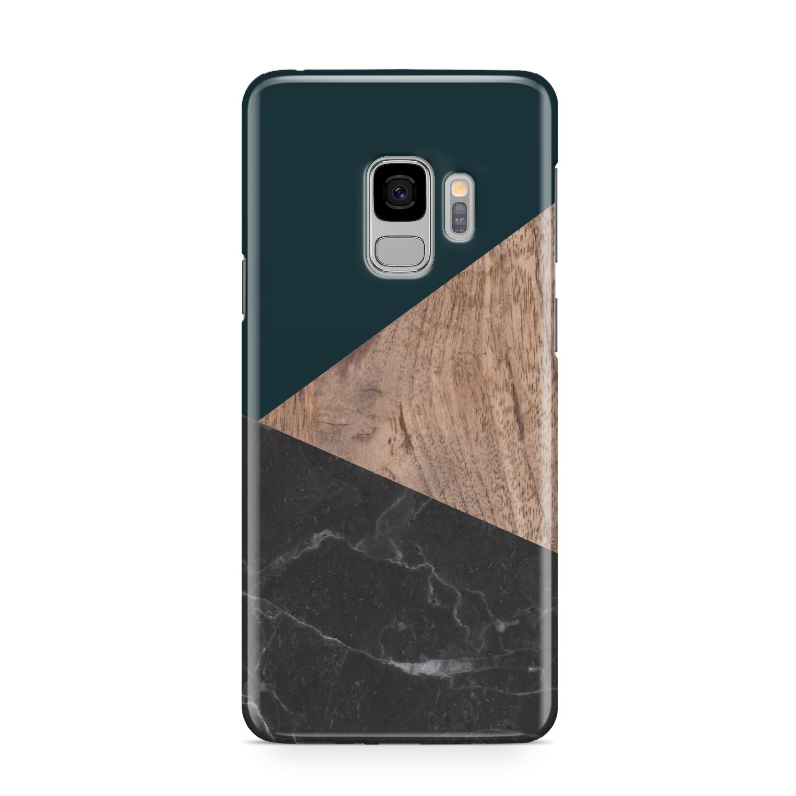 Marble Wood Geometric 6 Samsung Galaxy S9 Case