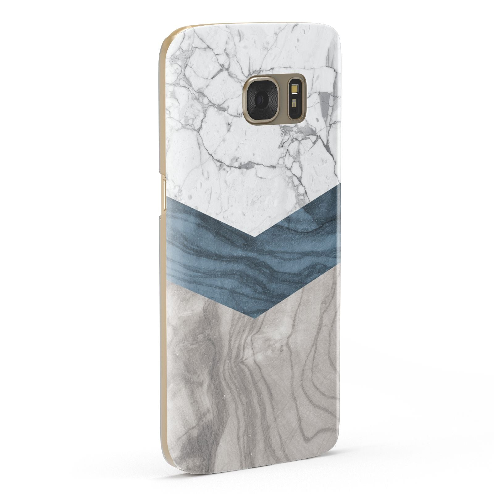 Marble Wood Geometric 8 Samsung Galaxy Case Fourty Five Degrees