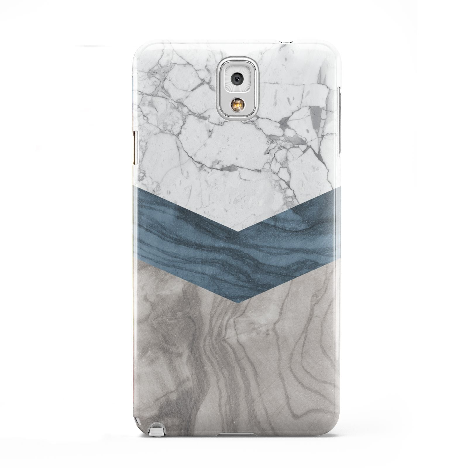 Marble Wood Geometric 8 Samsung Galaxy Note 3 Case