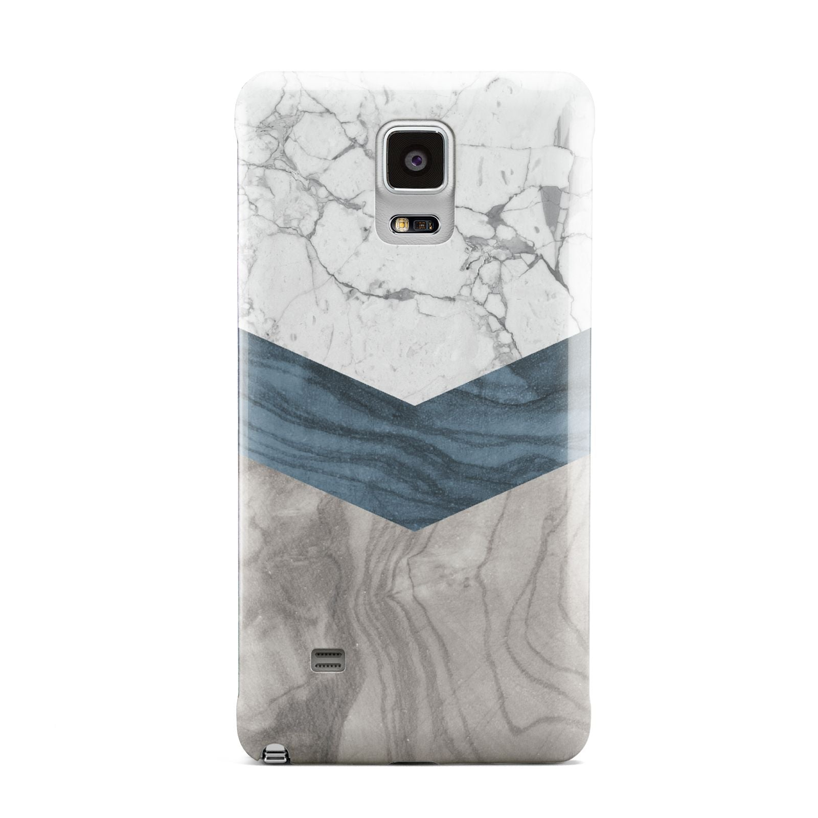 Marble Wood Geometric 8 Samsung Galaxy Note 4 Case