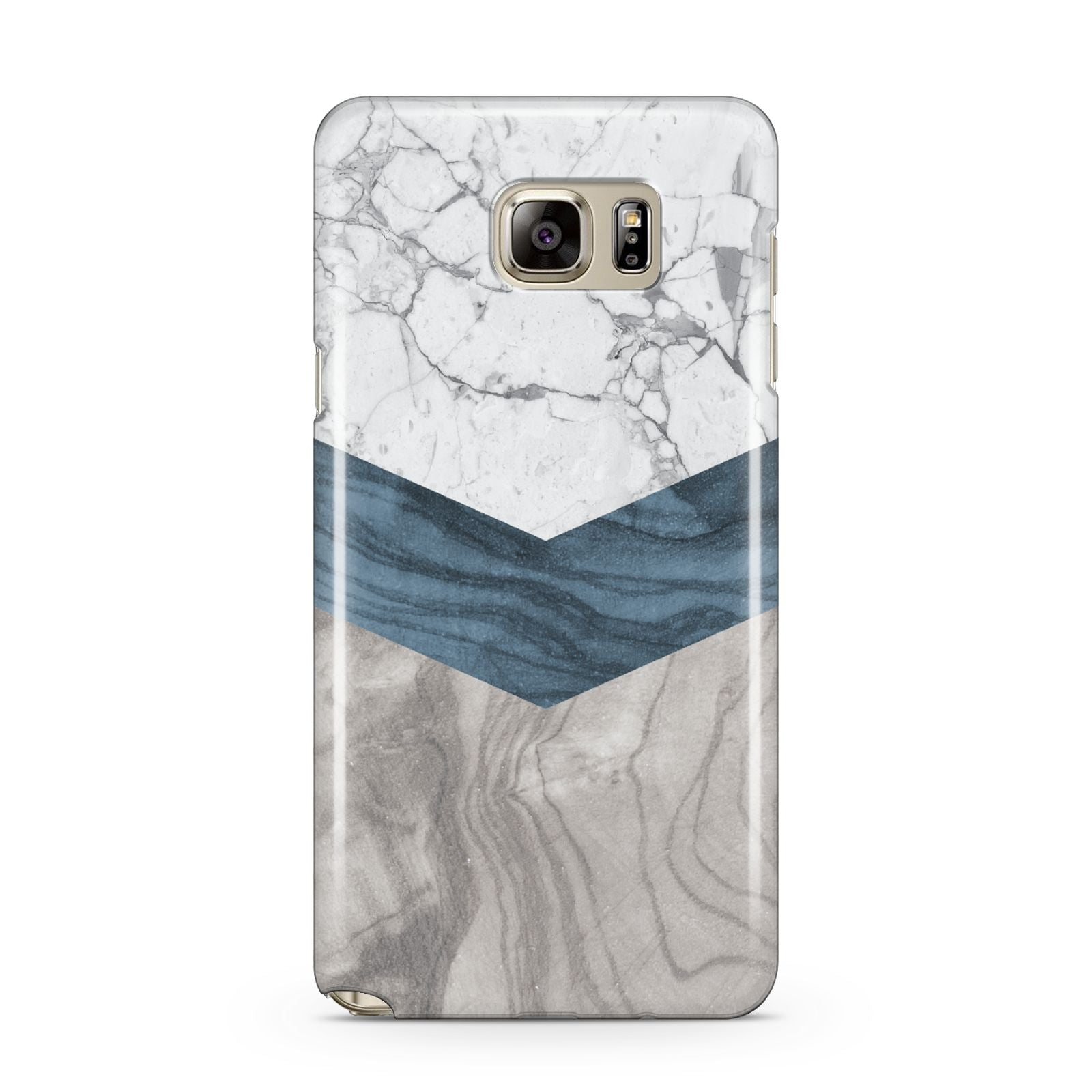 Marble Wood Geometric 8 Samsung Galaxy Note 5 Case