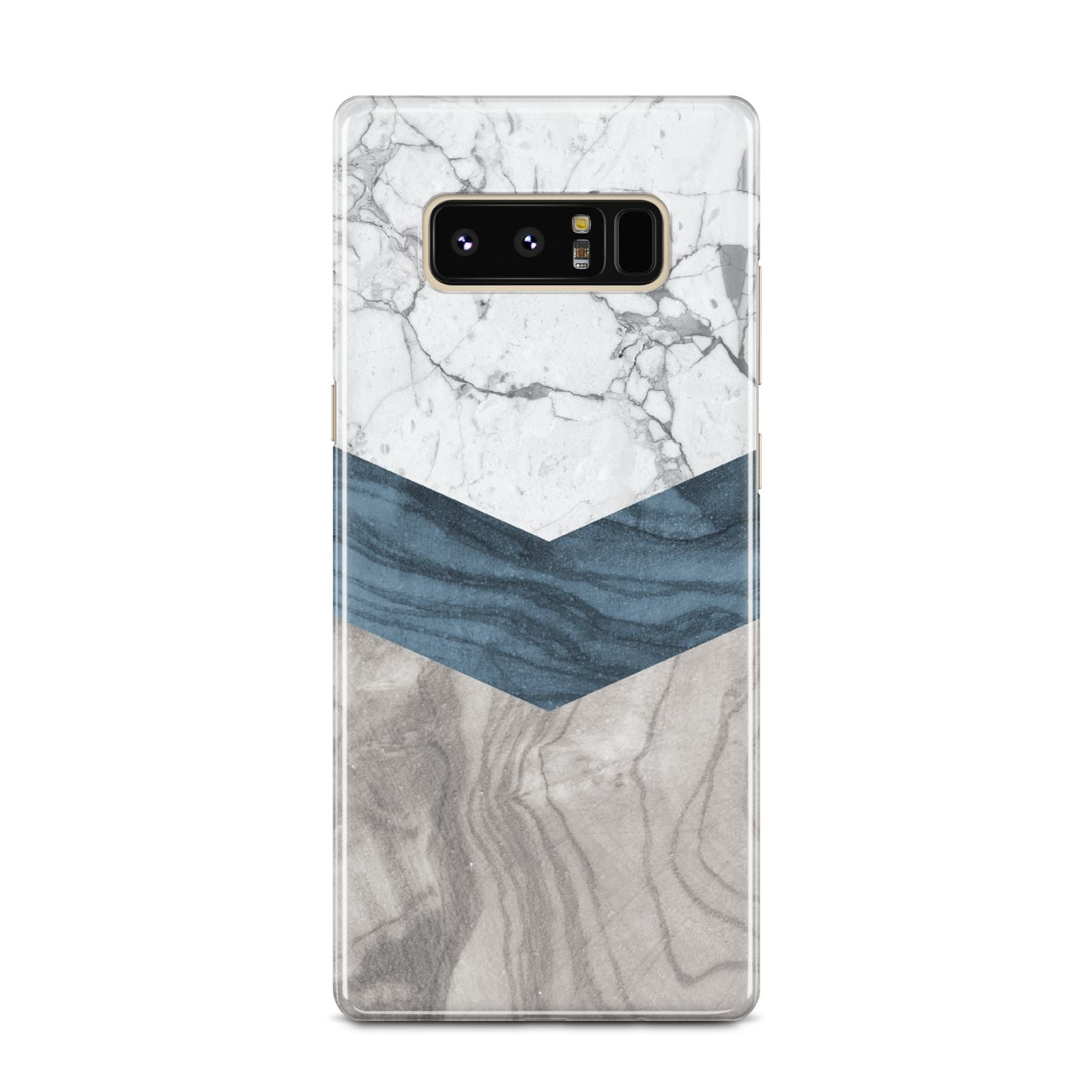 Marble Wood Geometric 8 Samsung Galaxy Note 8 Case
