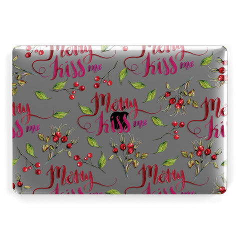 Merry kiss me Macbook Case