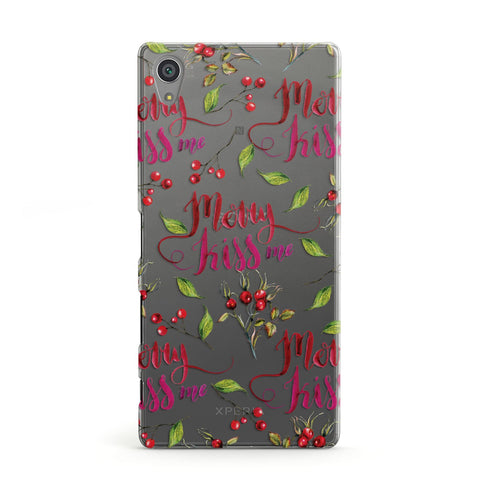 Merry kiss me Sony Case