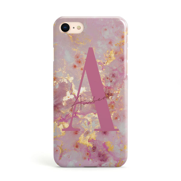 16129c3e744fc Personalised Marble Initialed Phone Cases & Covers