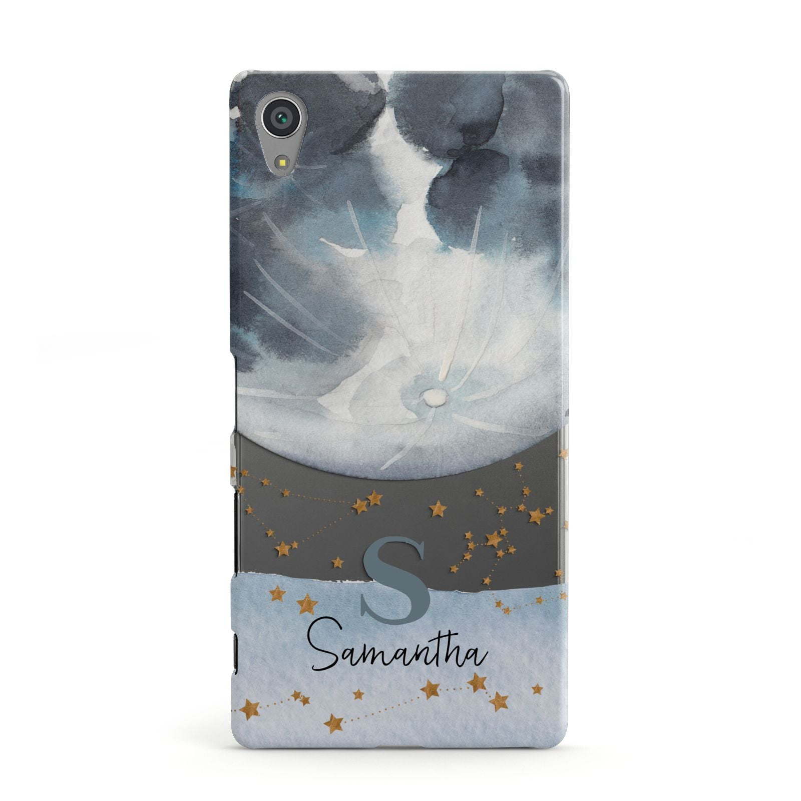 on sale cd660 9de0a Moon Constellation Personalised Sony Case