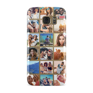 Multi Photo Collage Samsung Galaxy Case
