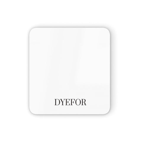 Name Personalised White Coasters set of 4