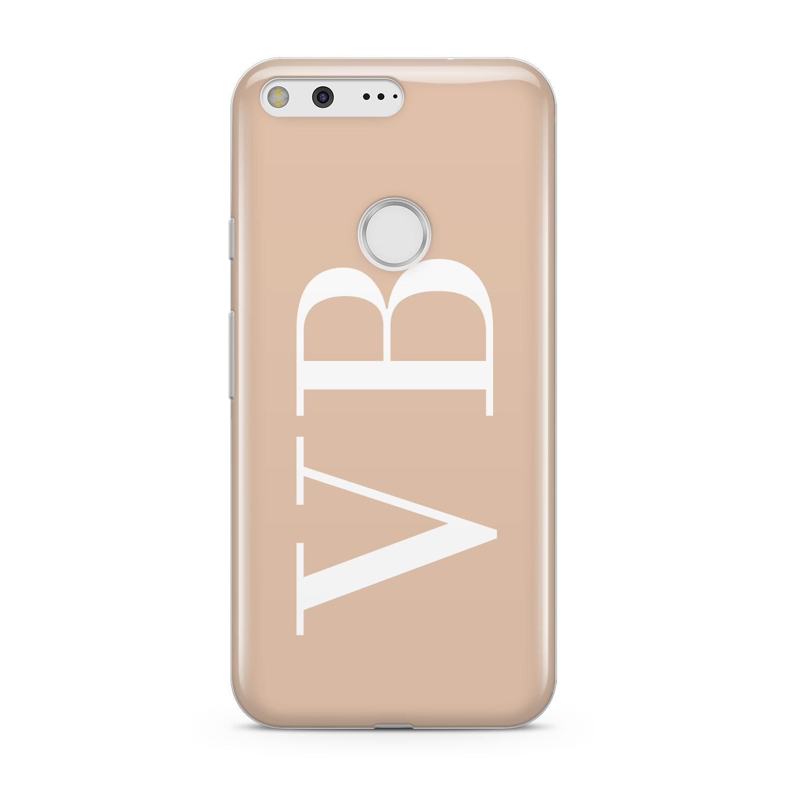 Nude And White Personalised Google Pixel Case