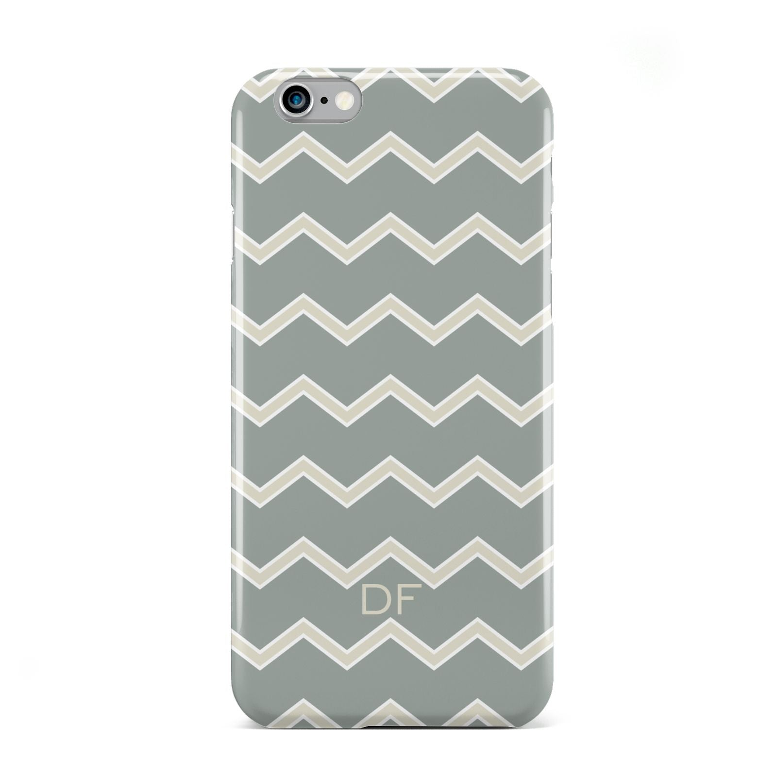Personalised 2 Tone Chevron Apple iPhone 6 Case