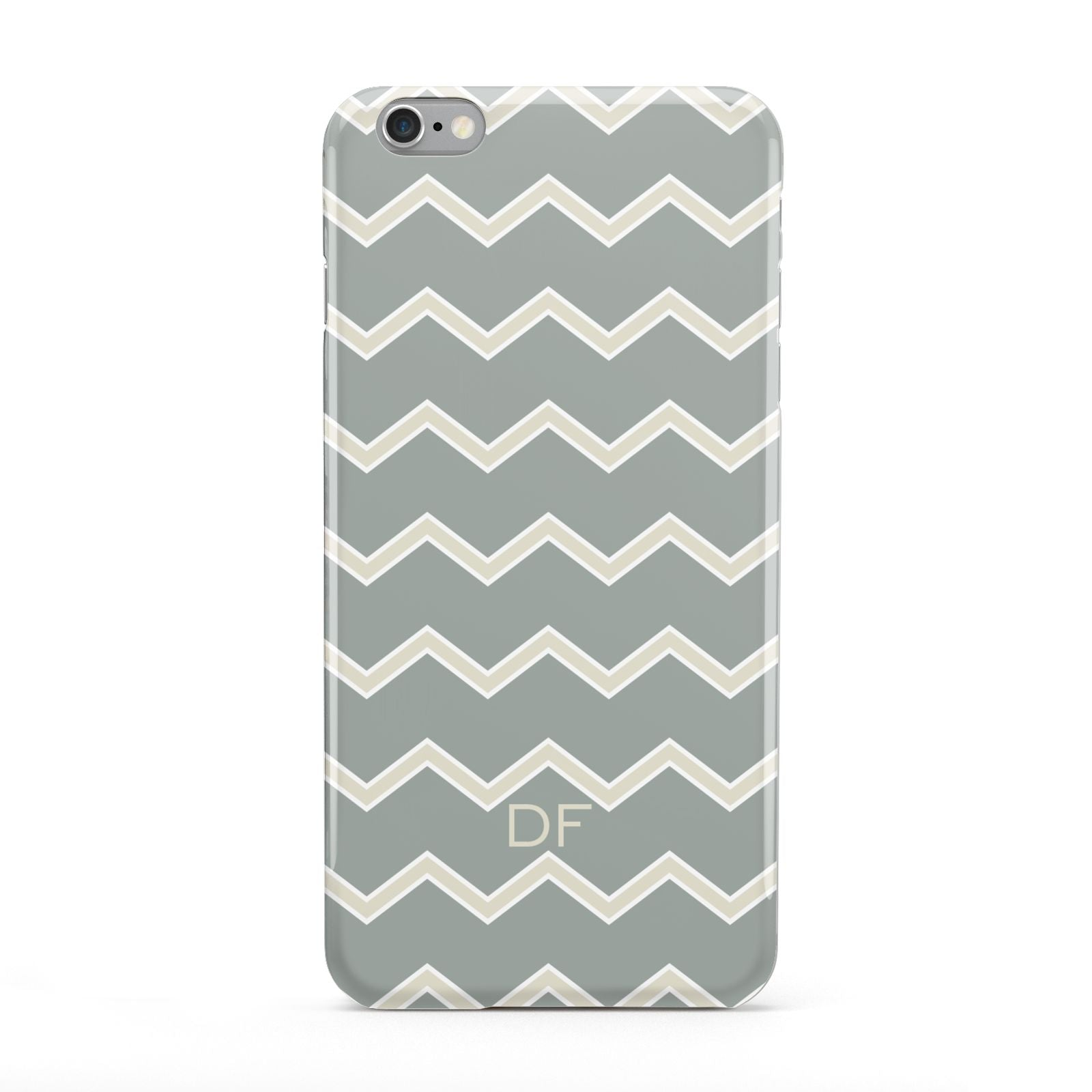 Personalised 2 Tone Chevron Apple iPhone 6 Plus Case