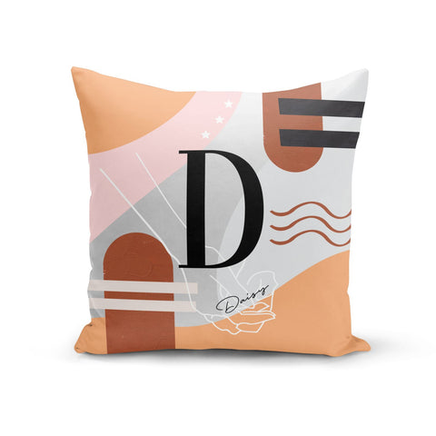 Personalised Abstract Cushion