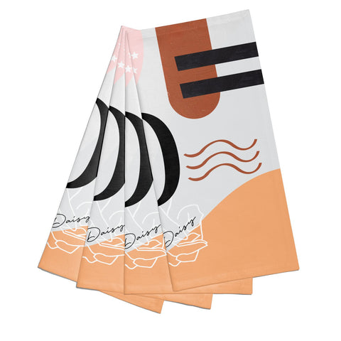 Personalised Abstract Napkins