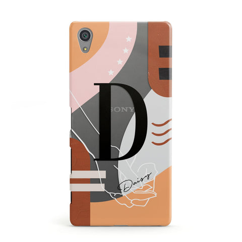 Personalised Abstract Sony Case