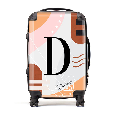 Personalised Abstract Suitcase