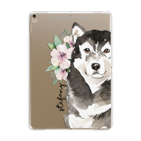 Personalised Alaskan Malamute iPad Case