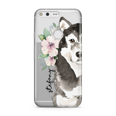 Personalised Alaskan Malamute Google Case
