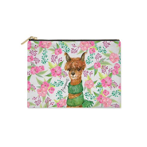 Personalised Alpaca Clutch Bag