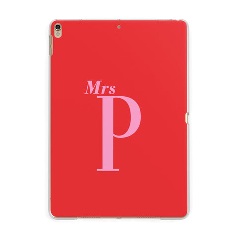 Personalised Alphabet iPad Case