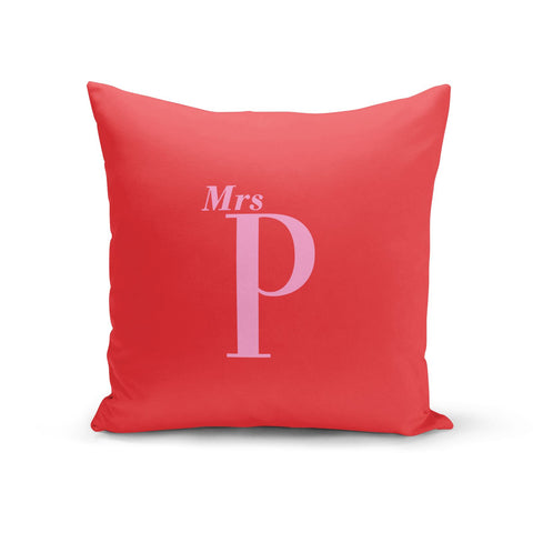 Personalised Alphabet Cushion