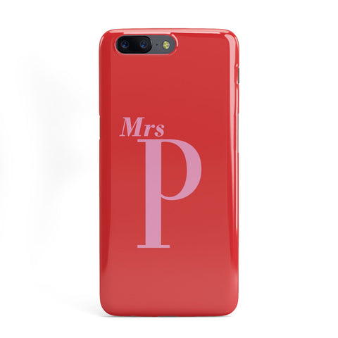 Personalised Alphabet OnePlus Case