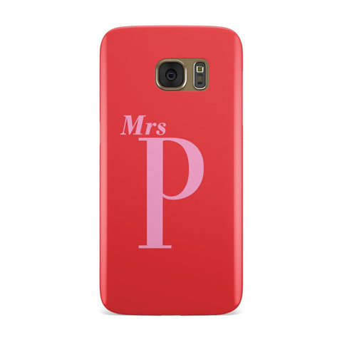 Personalised Alphabet Samsung Galaxy Case