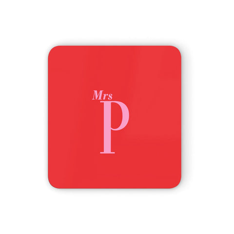 Personalised Alphabet Coasters set of 4