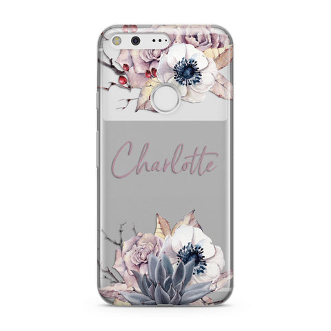 Personalised Autumn Floral Google Case