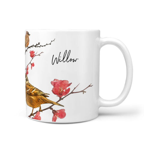 Personalised Birds Mug