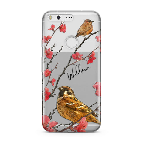 Personalised Birds Google Case