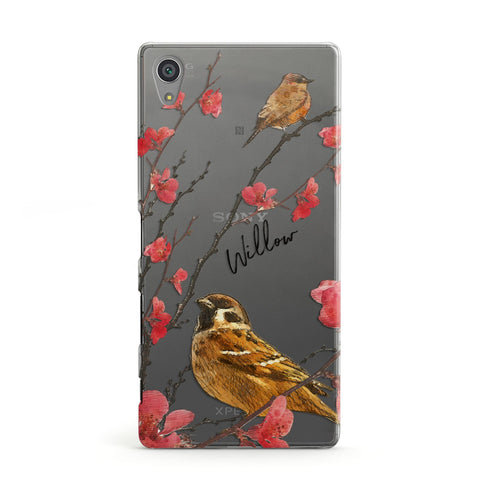 Personalised Birds Sony Case