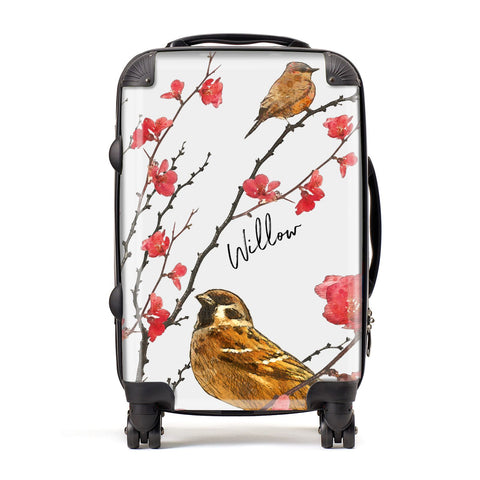Personalised Birds Suitcase